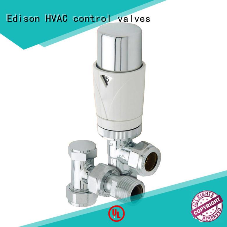 Edison twin radiator valves supplier for larger family homes