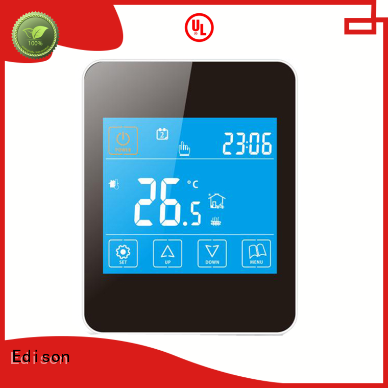 Edison online wireless central heating control systems function factory