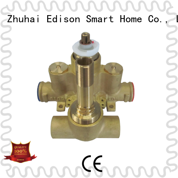 Edison high quality thermostatic shower valve supplier for shopping malls