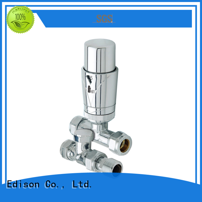 Wholesale comfortable electronic thermostatic radiator valves Edison Brand
