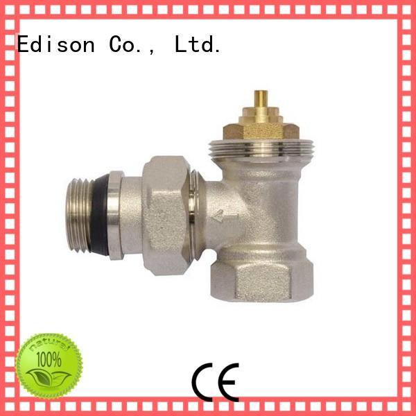 electronic thermostatic radiator valves twin thermostatic radiator valve Edison Brand
