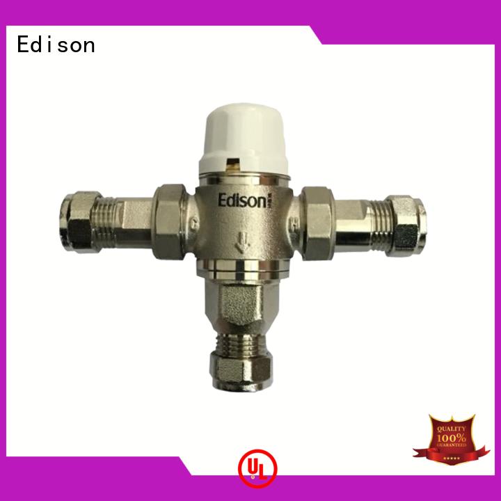 Edison booster temp control shower valve manufacturer for hardware store