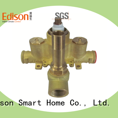 Edison production mixing valve series for hotels