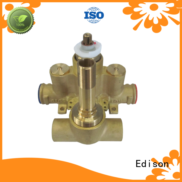 cpvc mini thermostatic shower mixer valve regulating Edison company