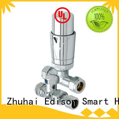 durable chrome radiator valves knob manufacturer for apartments