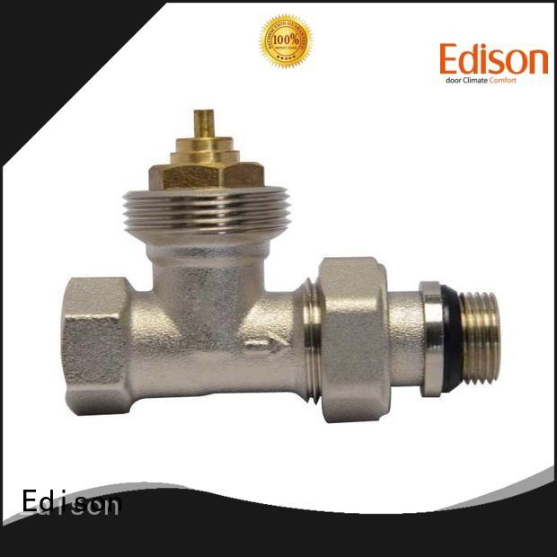 Edison gb fitting radiator valves manufacturer for shopping malls