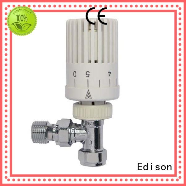 Edison straight trv radiator valves manufacturer for apartments