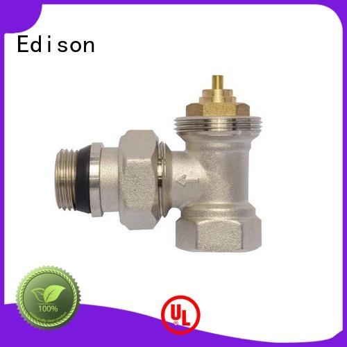 knob radiator valves series for villas Edison