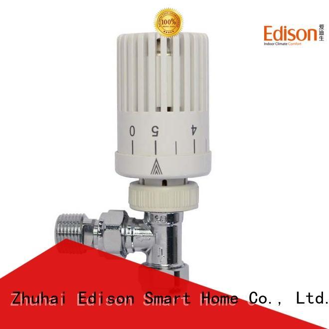 Edison twin radiator valve caps manufacturer for shopping malls