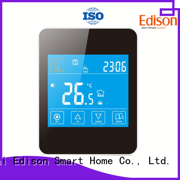 Edison online heat pump programmable thermostat manufacturer for electric heating control system