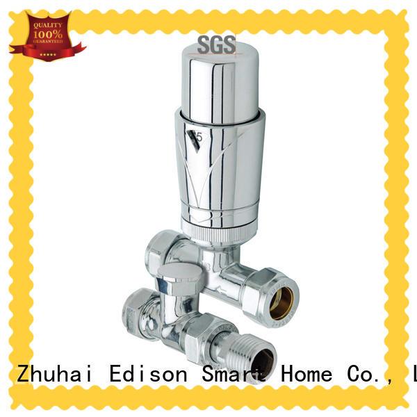 Edison high quality radiator control valve supplier for villas