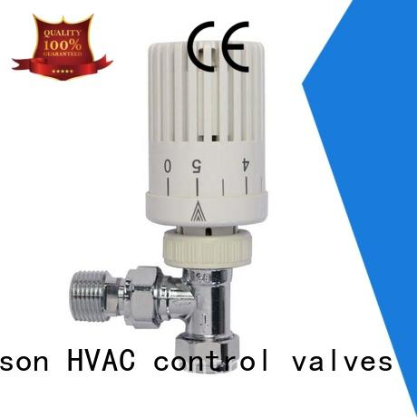 Edison angle radiator control valve wholesale for larger family homes