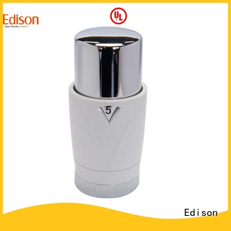 straight smart radiator valve series for hotels Edison