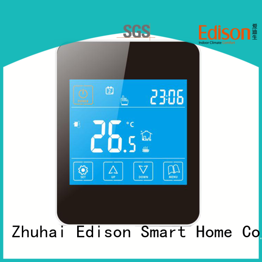 Edison quickly heat only thermostat production for hardware store