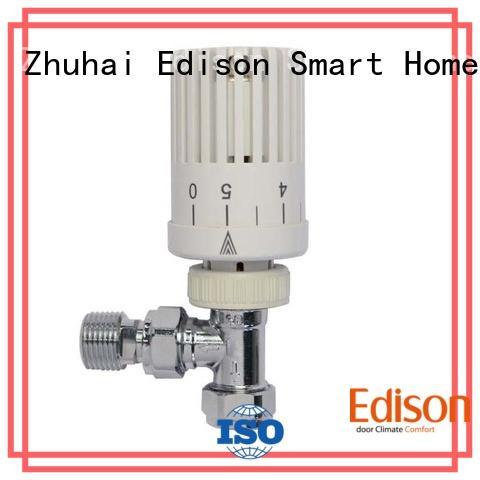 Edison thermostatic trv radiator valves wholesale for shopping malls