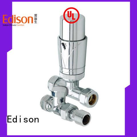 Edison gb radiator valve caps series for villas