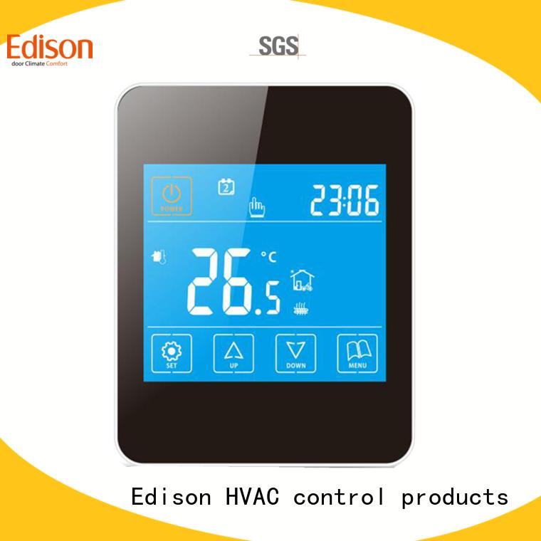 Edison heating underfloor heating controls explained production industry