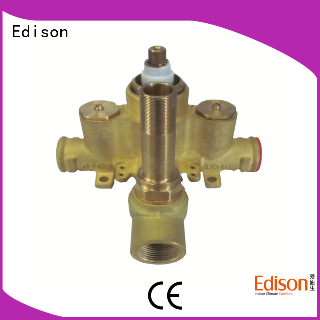 Edison high quality water heater tempering valve pex for hardware store