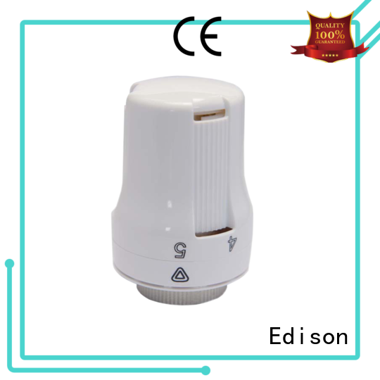 Edison thermostatic trv radiator valves manufacturer for larger family homes