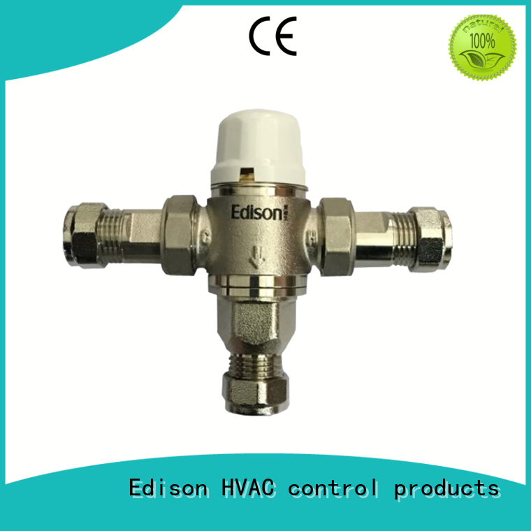 fittings temperature control valve for hot water series for hardware store Edison