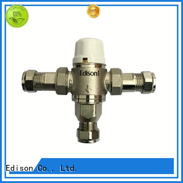 dual Custom boiler shower temperature control concealed Edison