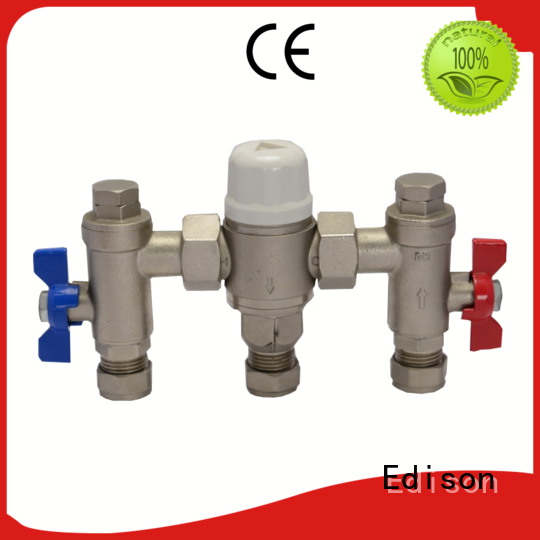 water heater tempering valve flow for hardware store Edison