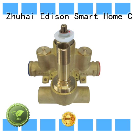Edison tank thermostatic mixing valve supplier for hotels