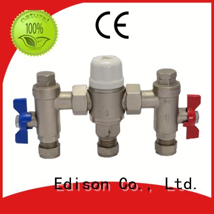 solar pex thermostatic shower mixer valve Edison Brand