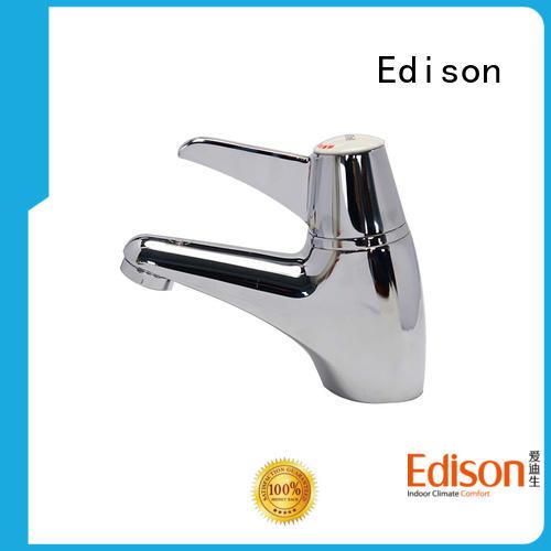 Edison thermostatic basin mixer manufacturer for wash basin