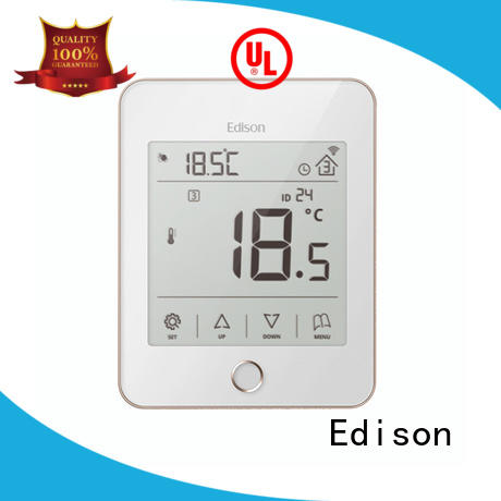 wireless central heating thermostat room industry Edison