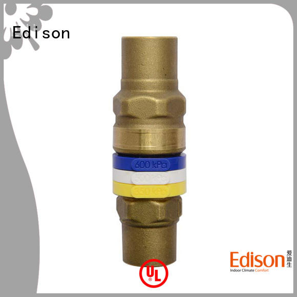 Edison heating by-pass valve supplier for hardware store
