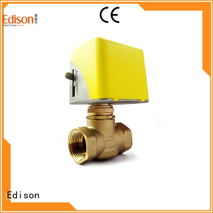 Edison heating 3 way motorised valve heating for air conditioning
