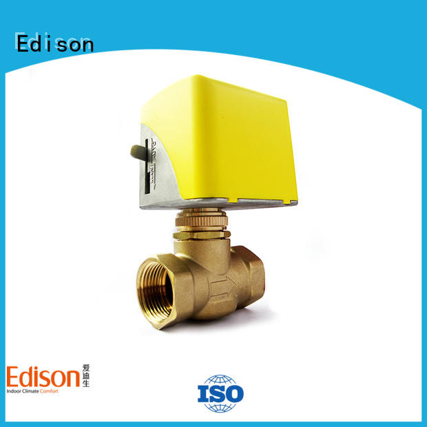 Edison cooling motorised valve production for air conditioning