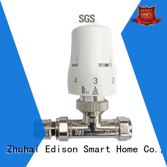 straight wifi radiator valve knob supplier for larger family homes
