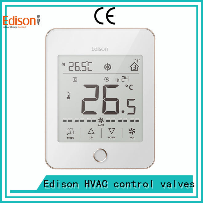 Edison thermostat ac thermostat manufacturer for hotels