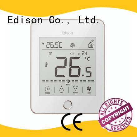 touch thermostat room for shopping malls Edison