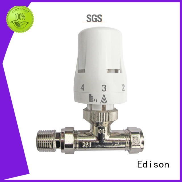 Edison thermostatic radiator valves wholesale for hotels