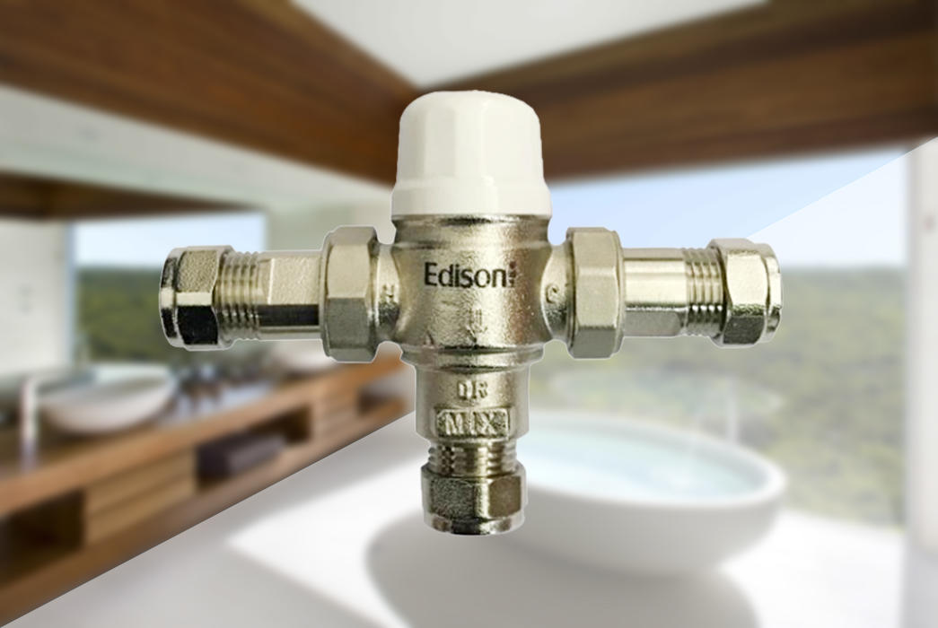 tank water heater tempering valve series for shopping malls Edison