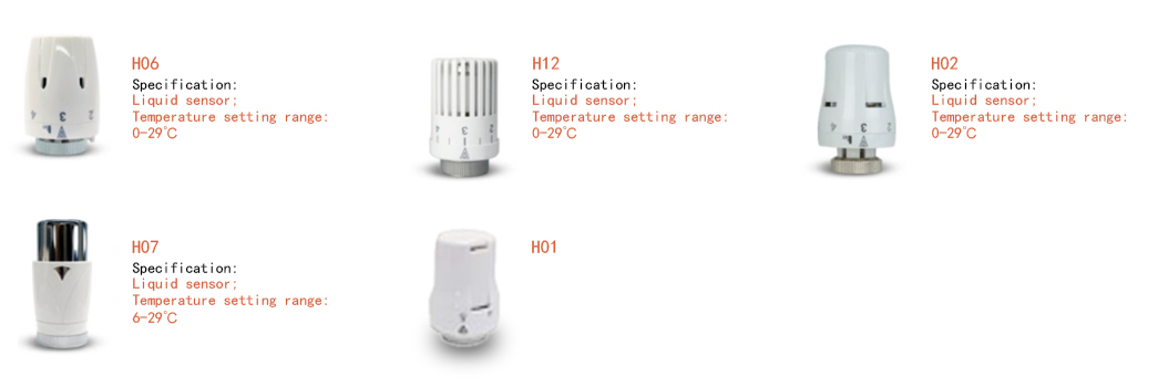 knob radiator valves series for villas Edison-2
