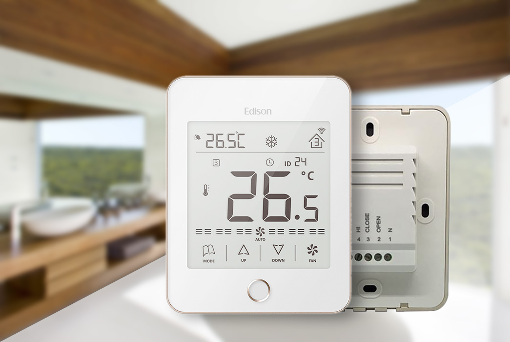 high quality wlan thermostat room supplier for shopping malls-1