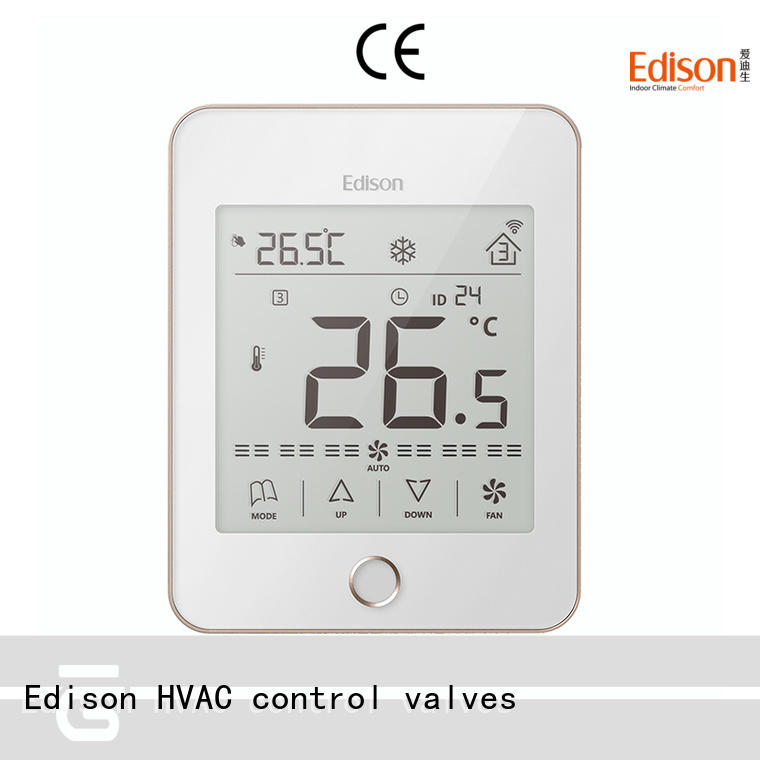 Edison thermostat wireless thermostat series for shopping malls