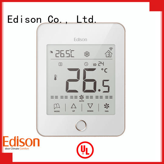 Edison Brand safety smoothly screen modbus wireless thermostat
