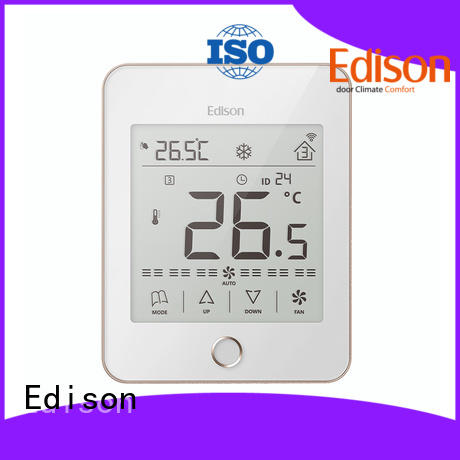 Edison durable hvac thermostat series for shopping malls