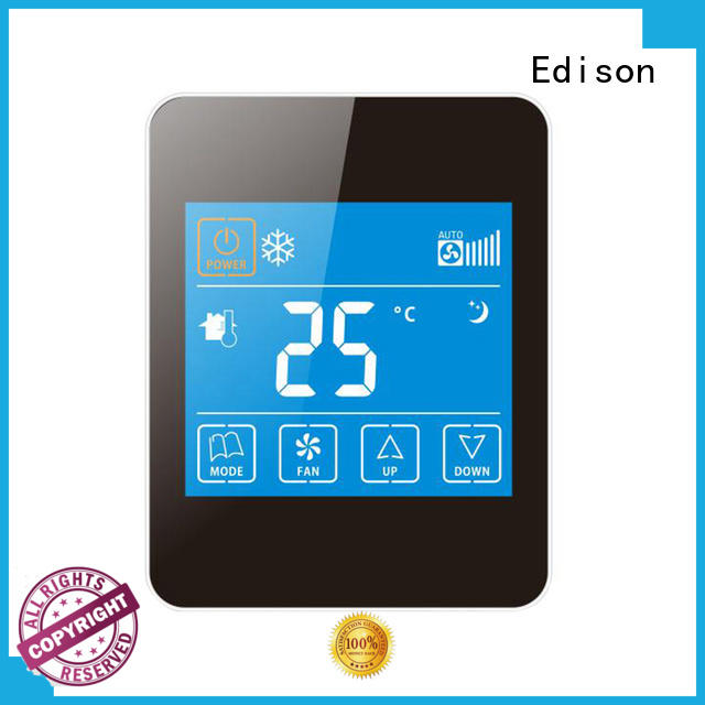 high quality heat pump thermostat screen supplier for villas