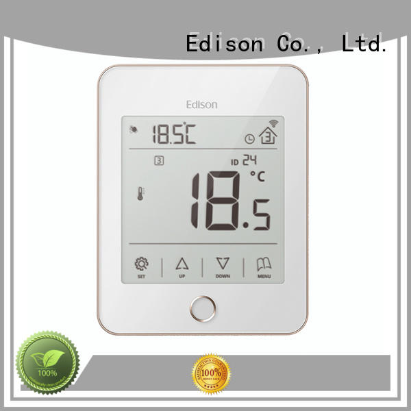 Edison online wifi heating thermostat supplier for hardware store