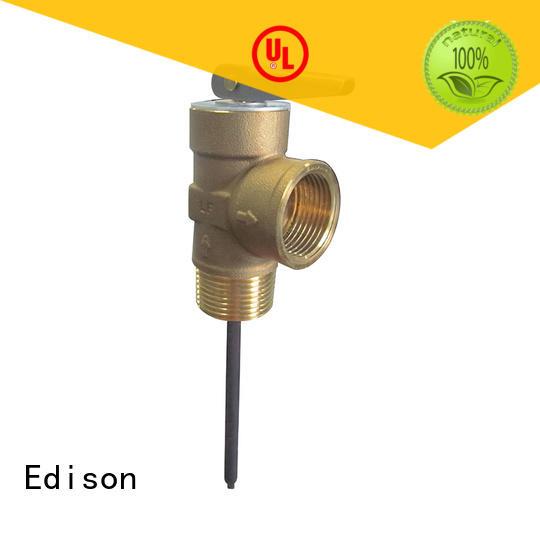Edison pressure tp valve manufacturer for hardware store