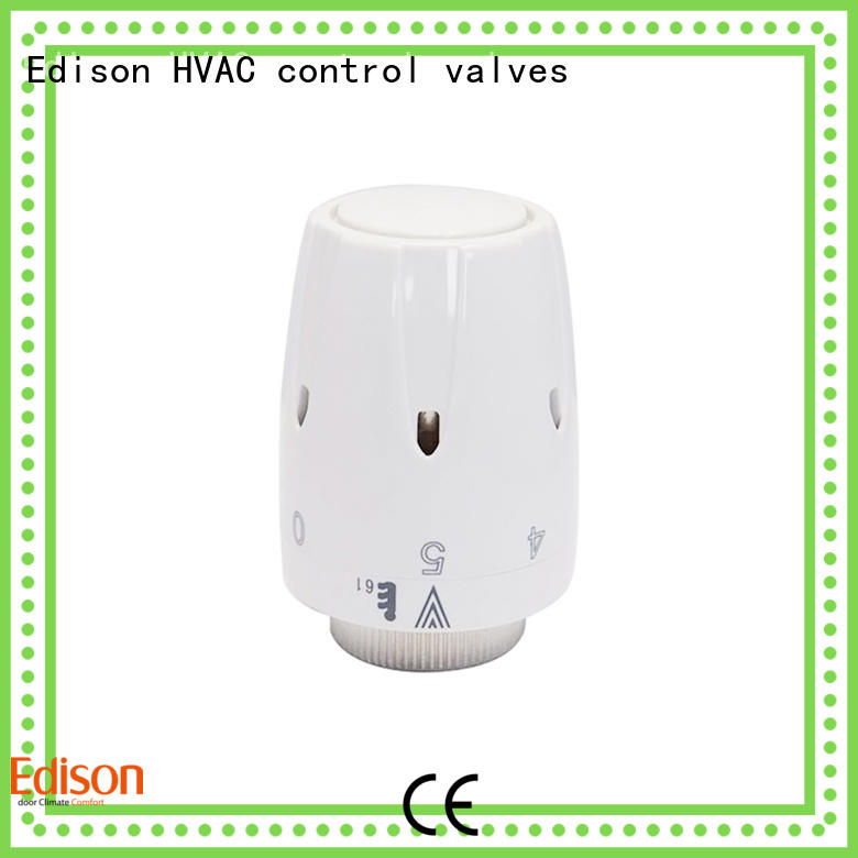 straight wifi radiator valve knob series for apartments