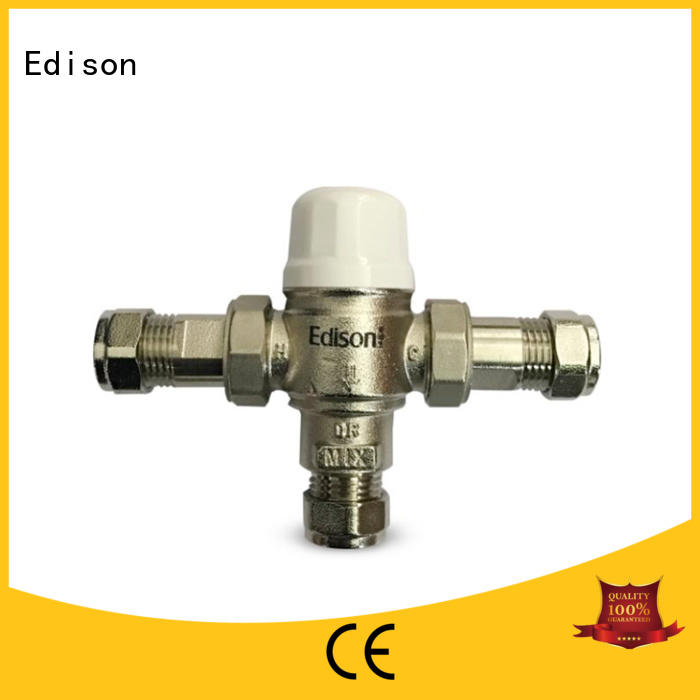 high quality temp control shower valve mini production for hardware store