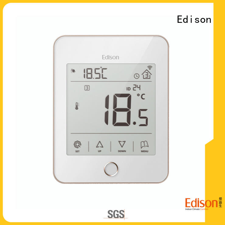 Edison durable heat only thermostat supplier for industry