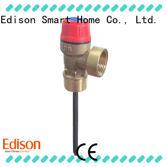 Edison relief t&p relief valve series for water tanks